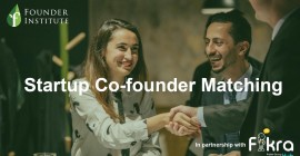 Startup Co-Founder Matching...